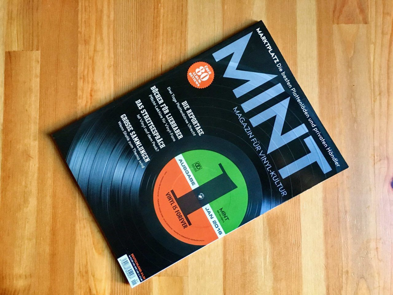 Mint - Ausgabe 01 / Januar 2016