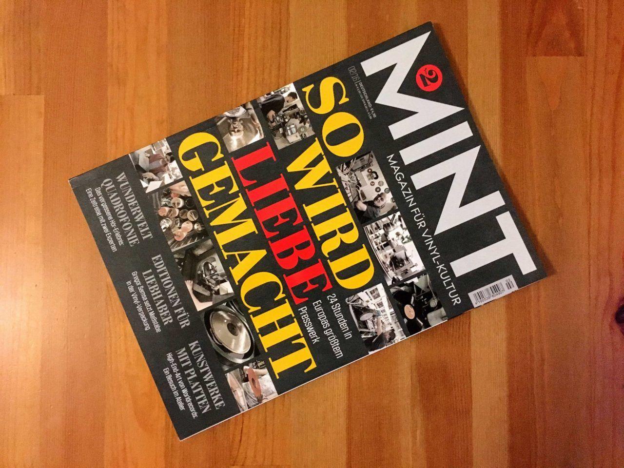 Mint - Ausgabe 02 - Magazin für Vinyl-Kultur