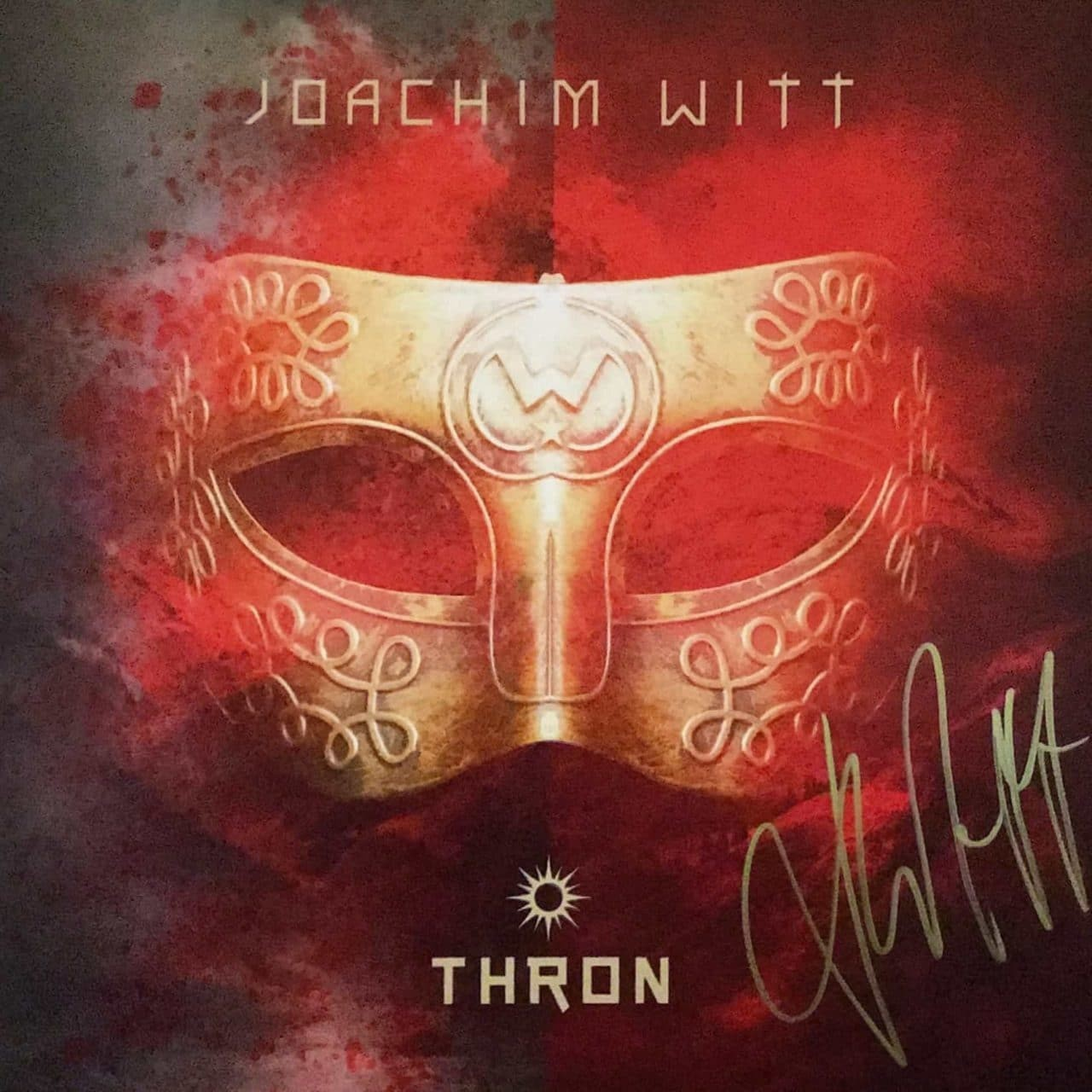 Thron - Joachim Witt - Cover Front