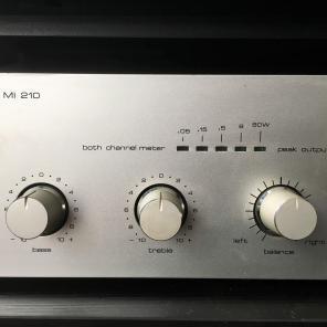SABA Integrated Amplifier MI 210 2