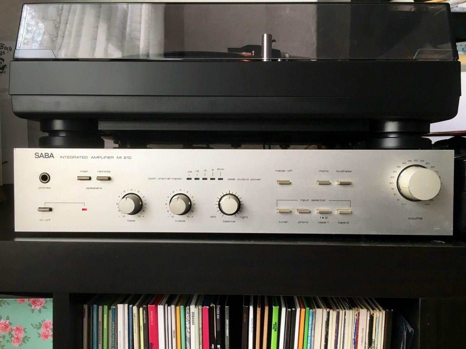 SABA Integrated Amplifier MI 210