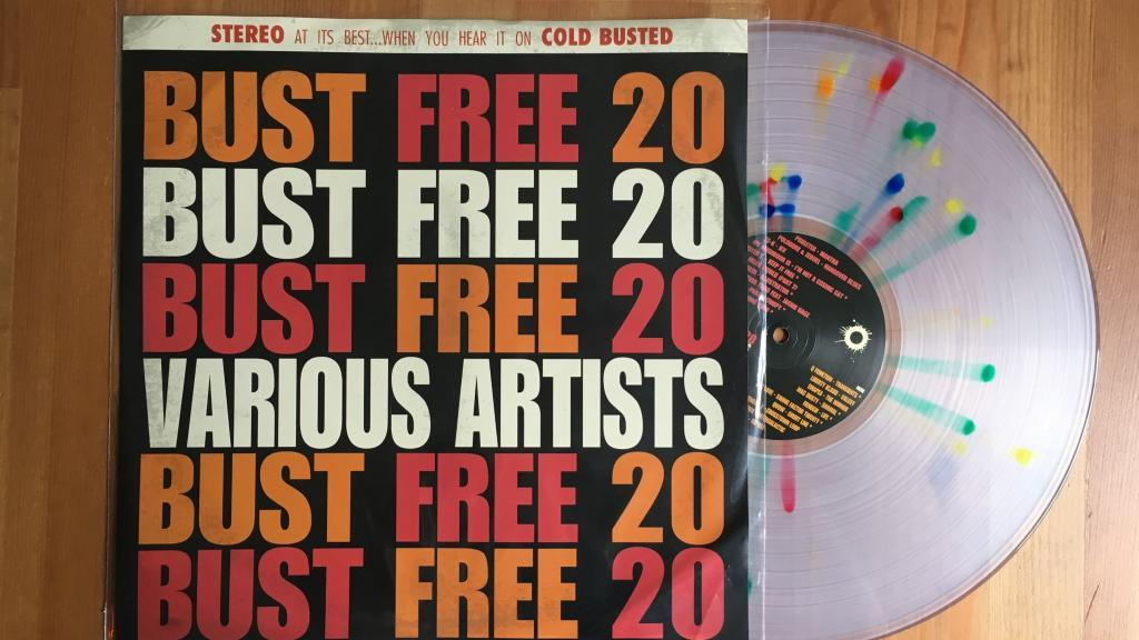 Bust Free 20 - Various Artists - Cold Busted