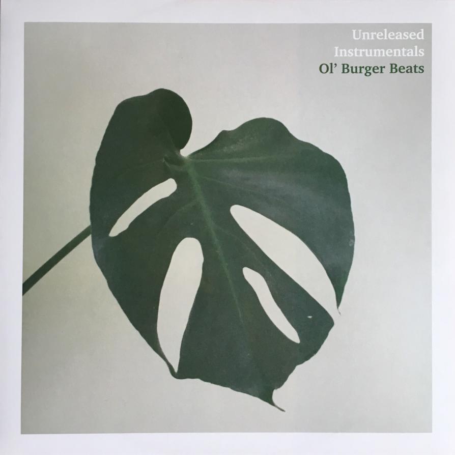 Ol' Burger Beats - Unreleased Instrumentals (2015 / HHV488) 1