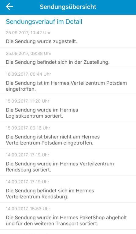 Hermes - Götterbote abgestürzt?