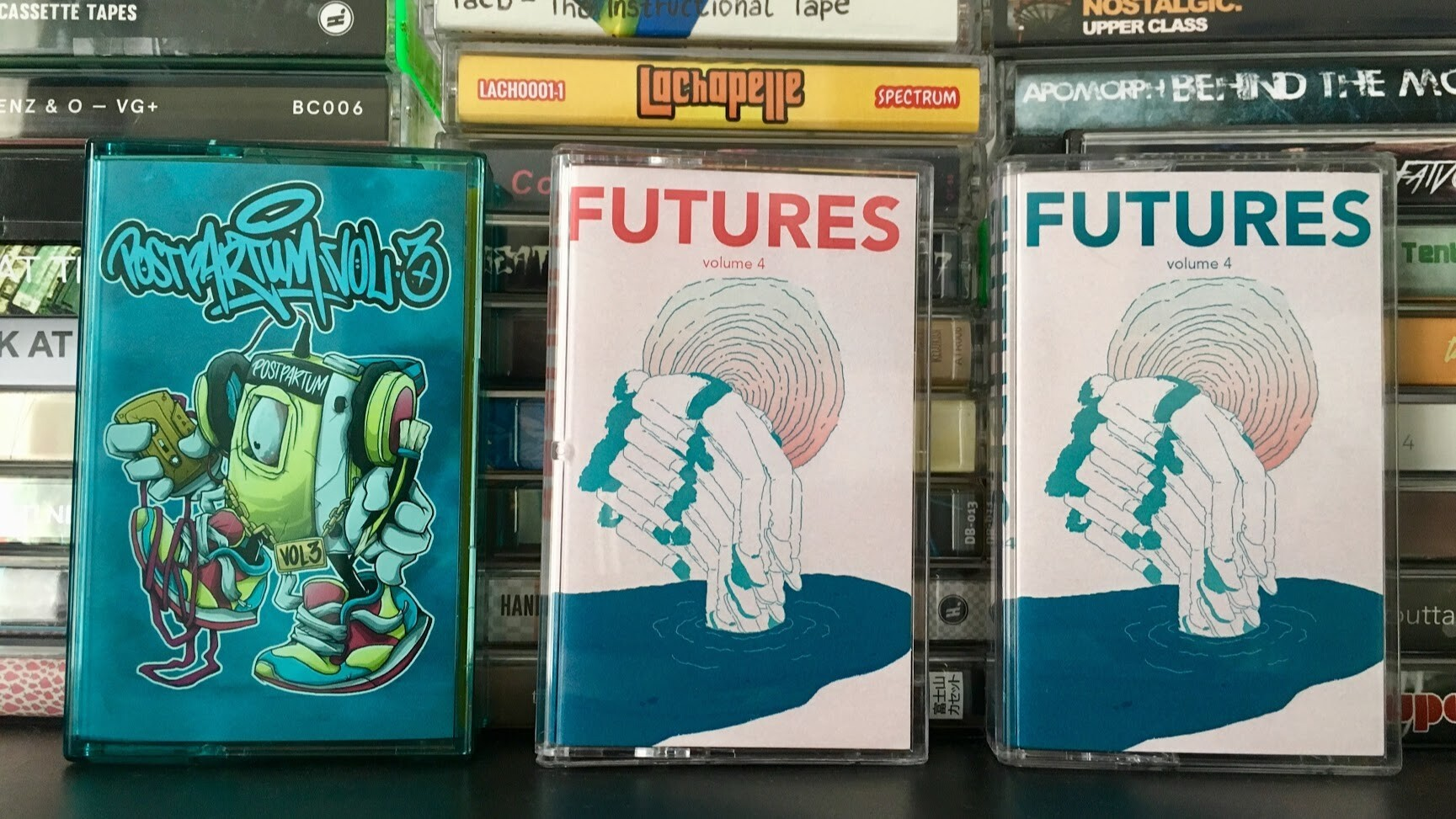 POSTPARTUM Vol. 3 und FUTURES Vol. 4 - Tapes 21