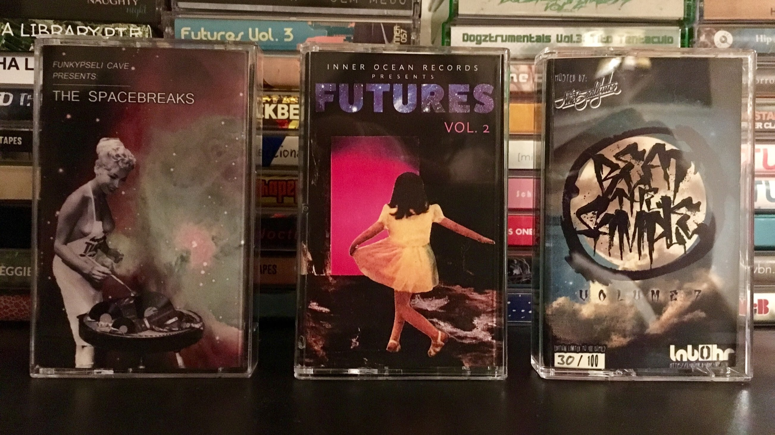 The Spacebreaks, Futures Vol. 2, Beat the Sample Vol. 7 - Tapes 29