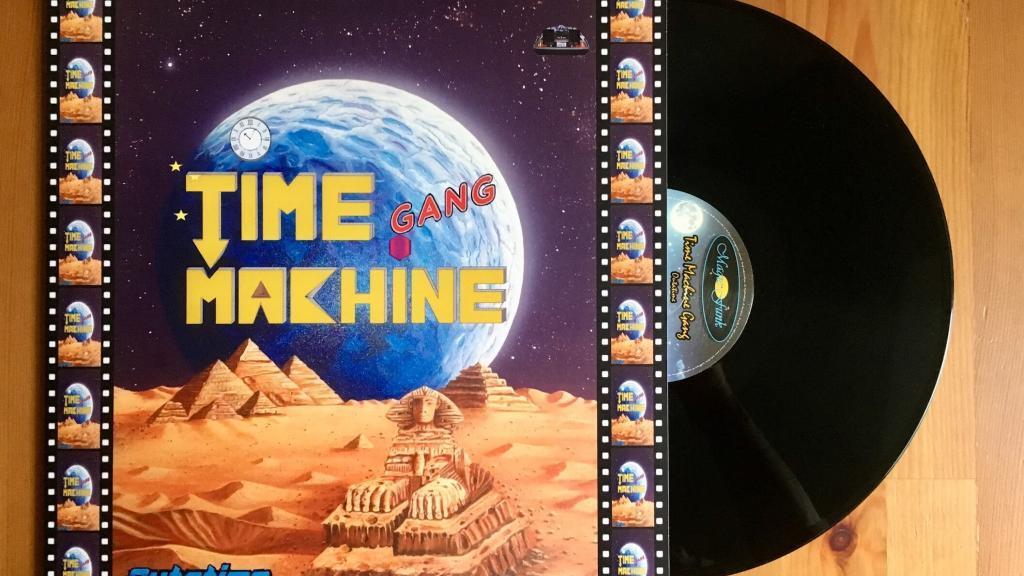 Time Machine Gang - Outatime - Magic Funk Records