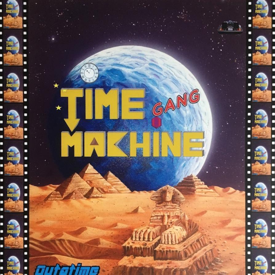 Time Machine Gang ‎- Outatime 1