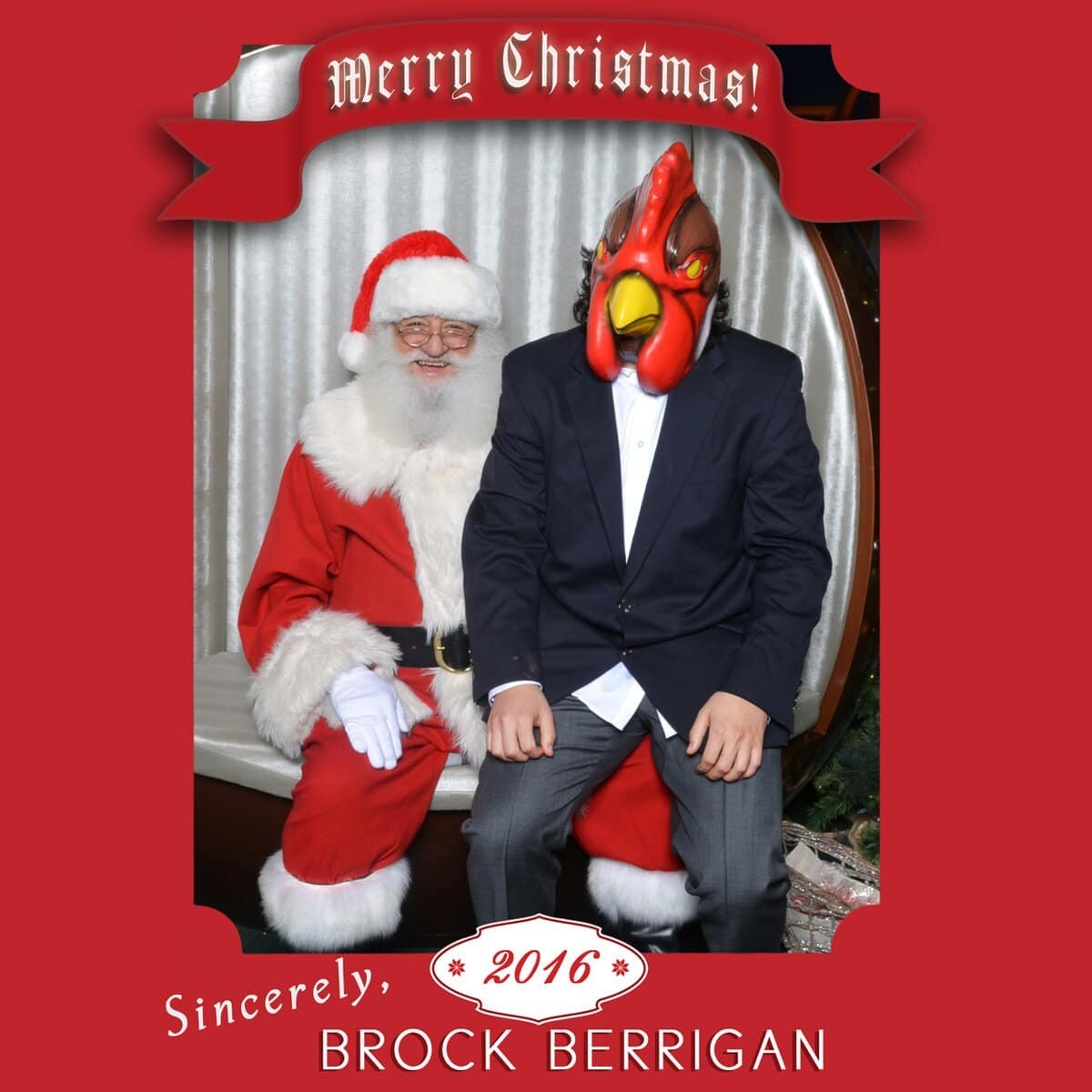 Brock Berrigan - White Christmas
