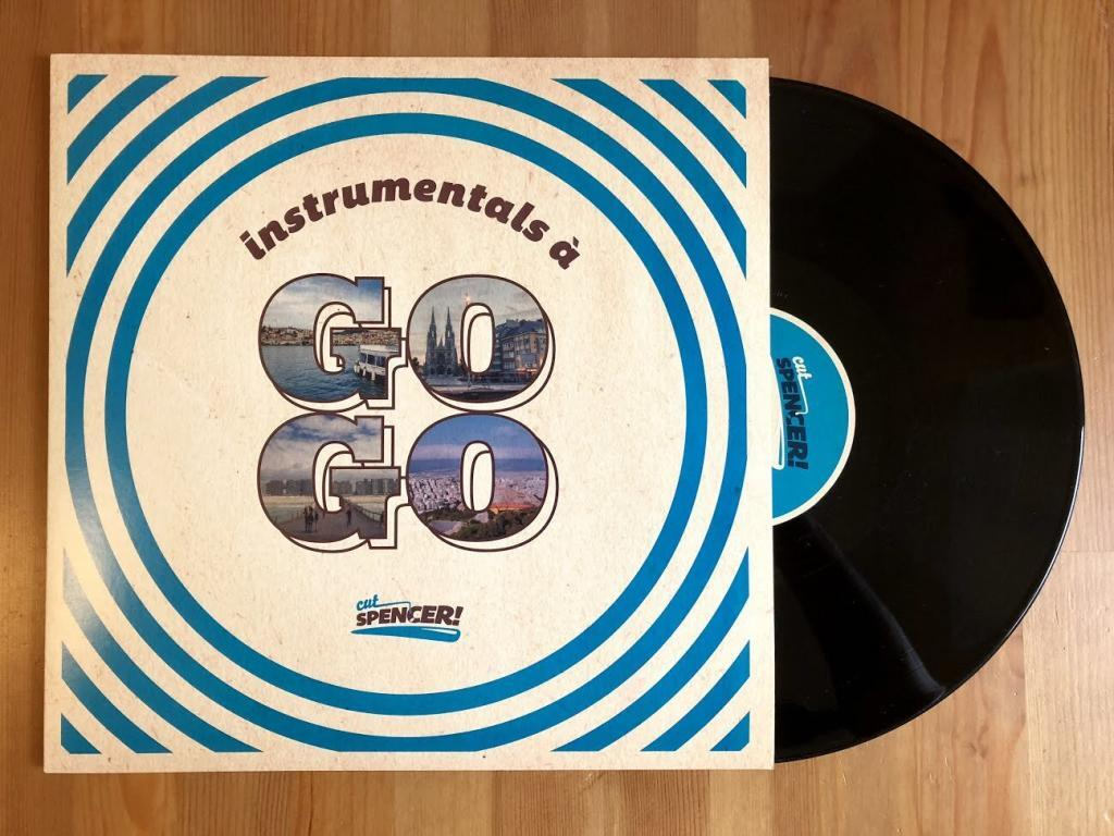 Cut Spencer - Instrumentals a gogo - Black Vinyl