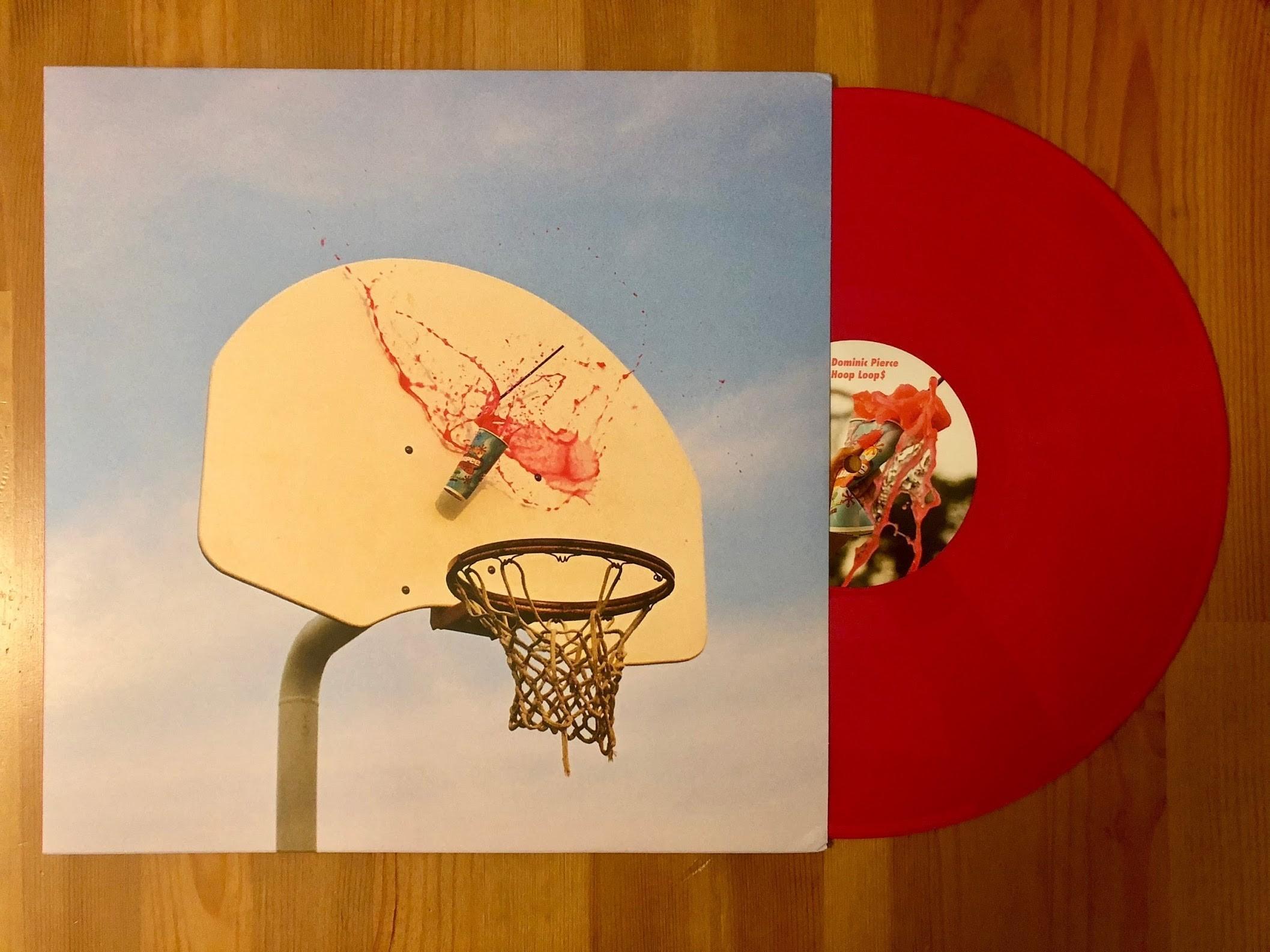 Dominic Pierce - Hoop Loops - Inner Ocean Records