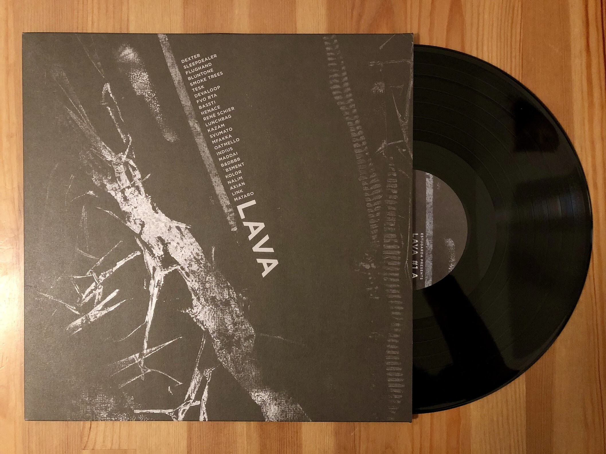Estugarda - Lava - Estugarda Records - Vinyl Digital