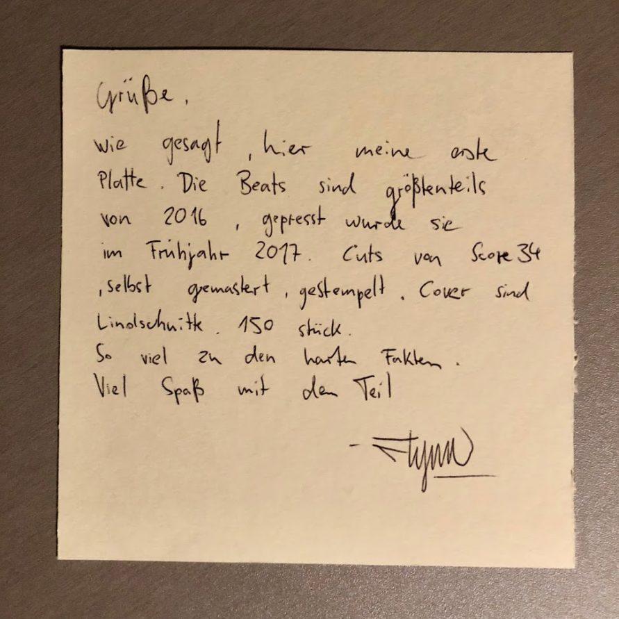 """Flynn - Von Wegen (7"""" EP)"""