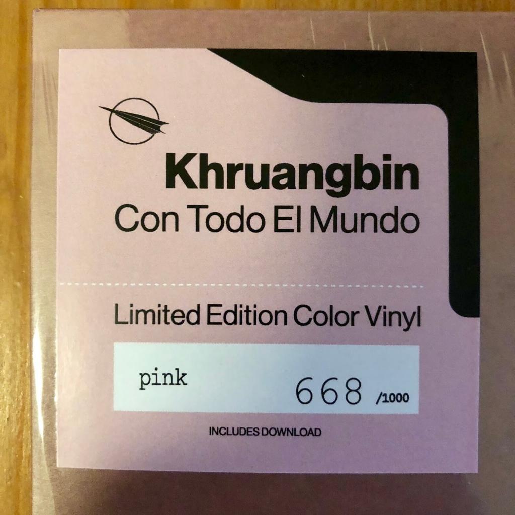 Khruangbin - Con Todo El Mundo - Pink - 668-1000