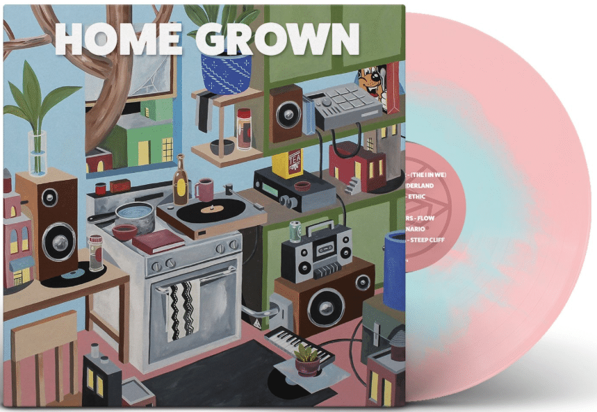 Pre-Order - HOME GROWN - Inner Ocean Records