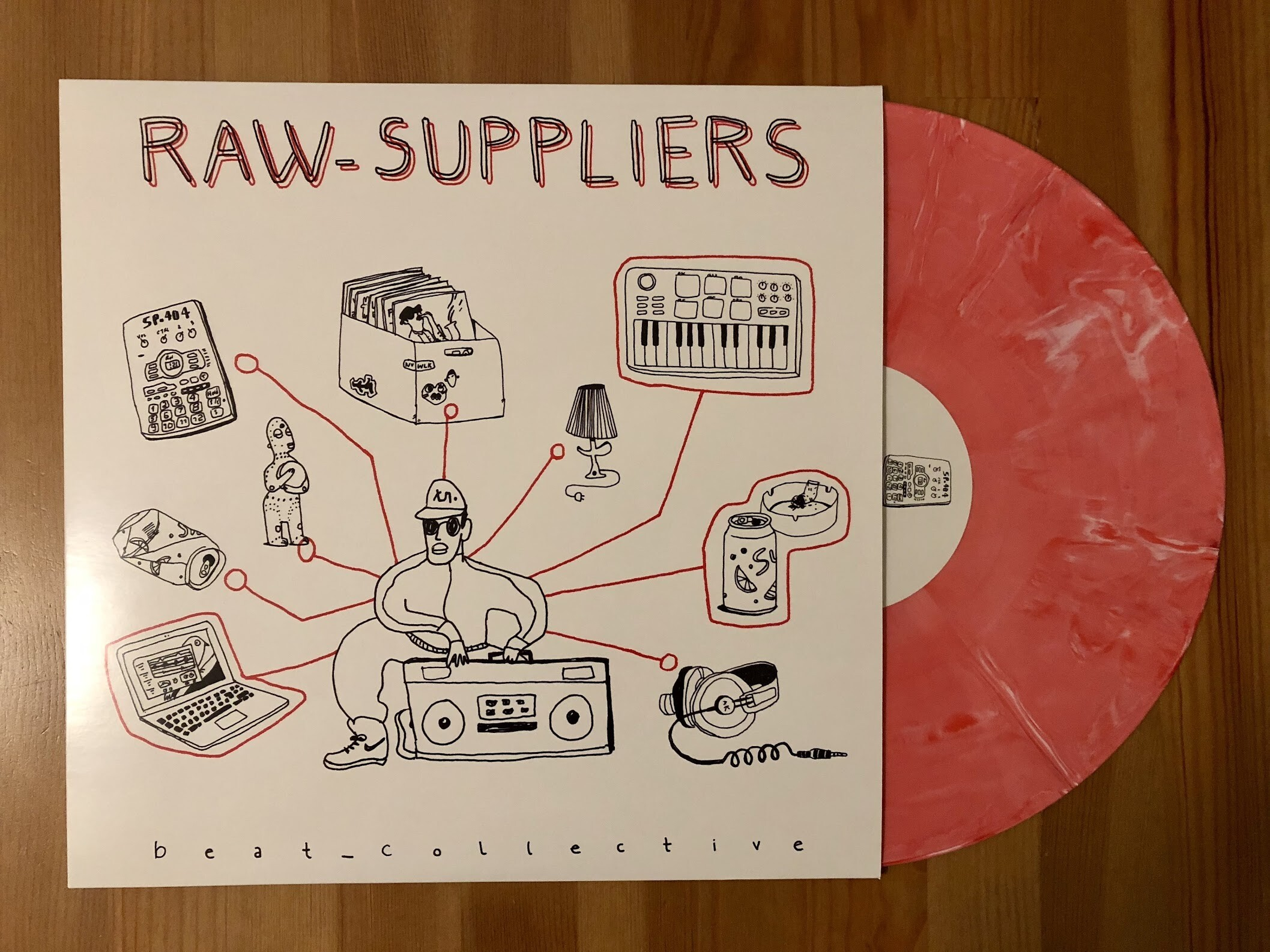 raw suppliers - beat collective - Dezi-Belle