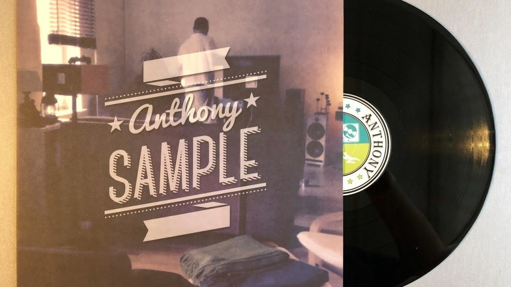 Anthony Sample - Anthony - Cover Front