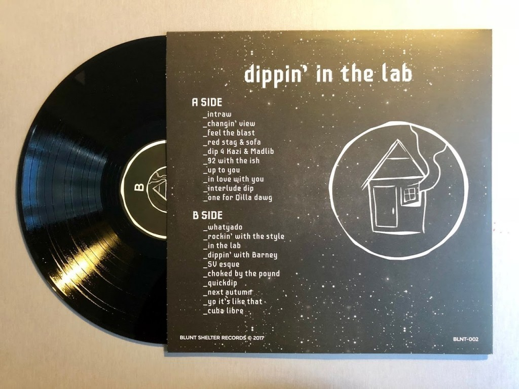 Herring Franky - Dippin in the Lab - Back