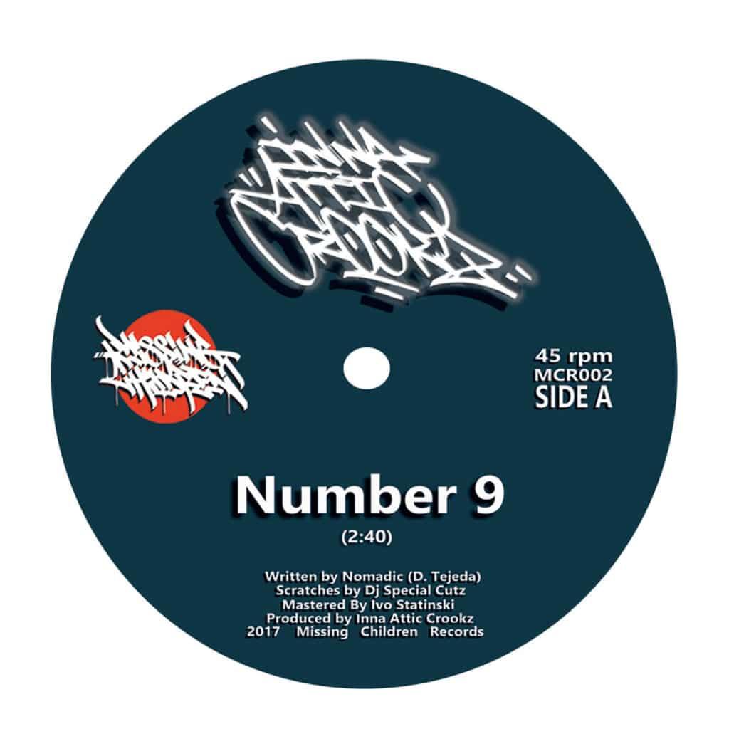 Inna Attic Crookz - Number 9 - Instrumental - BC