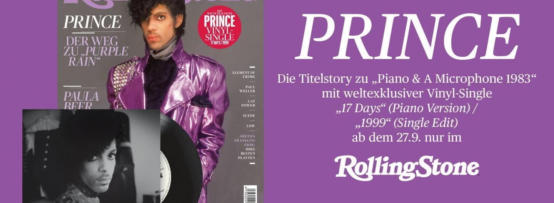 PRINCE 7-inch Single exklusiv im ROLLING STONE