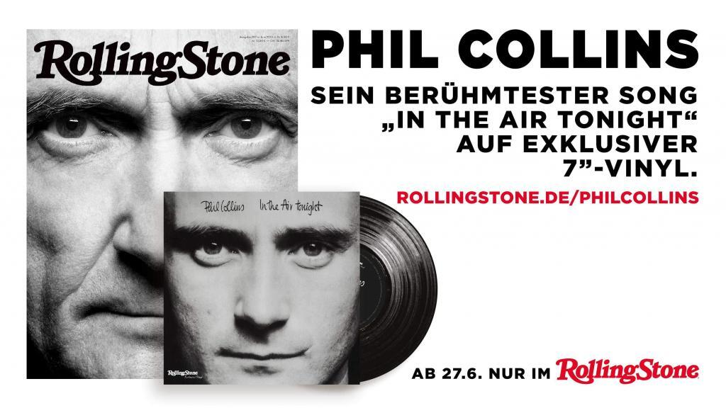 Phil Collins Single im ROLLING STONE