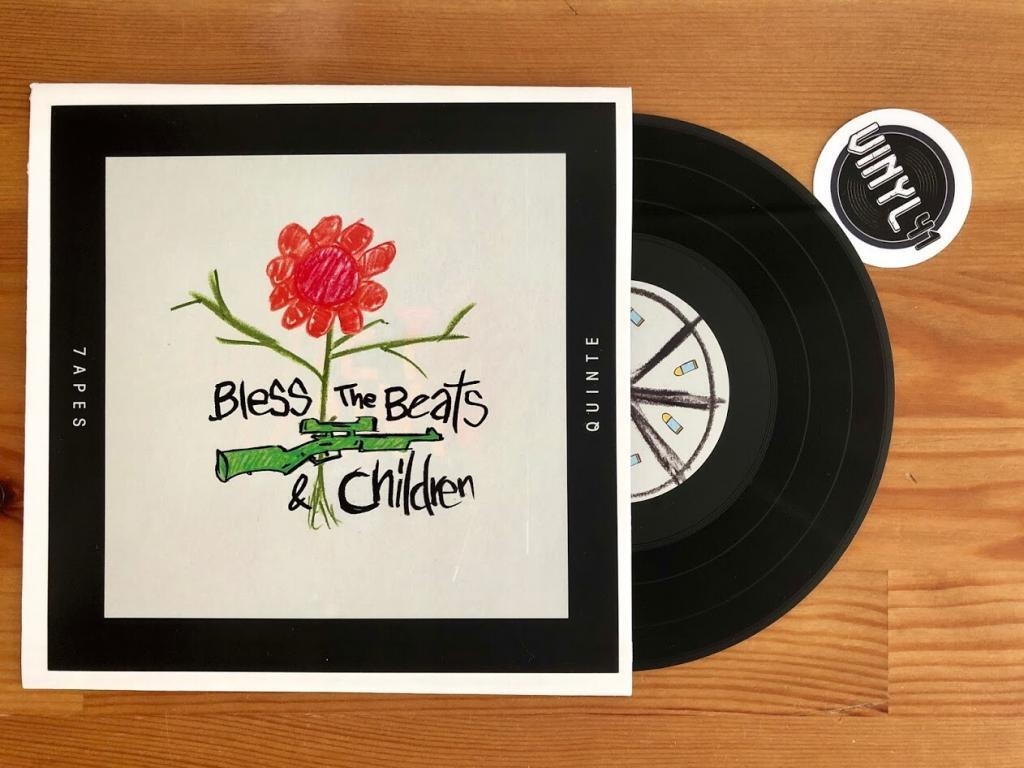 Weddinger 7inch Series - Bless the Beats & Children by 7Apes & Quinte