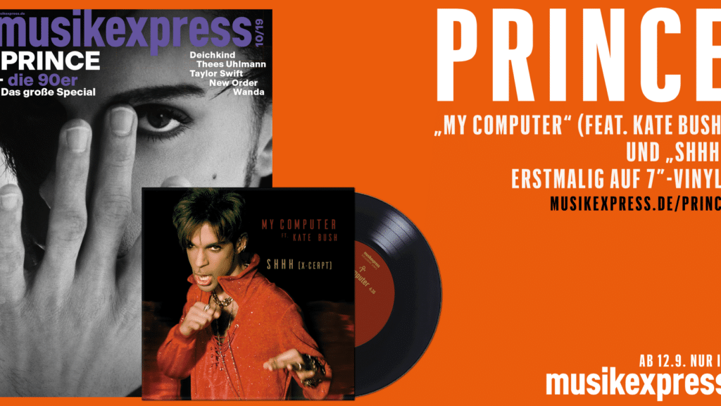 PRINCE Single im MUSIKEXPRESS 10-2019