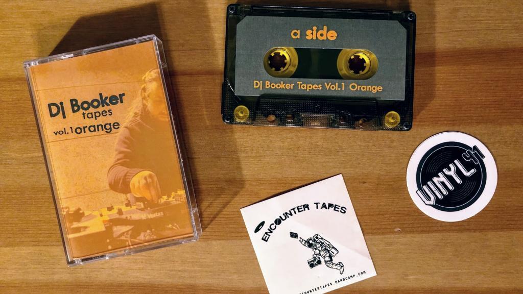 Dj Booker Tapes - Vol. 1 Orange