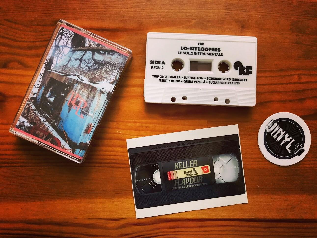 Lo-Bit Loopers Vol. 2 Instrumental Tape