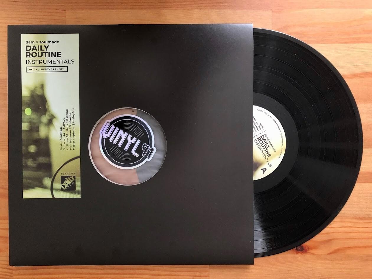 DAM / Soulmade - Daily Routine Instrumentals
