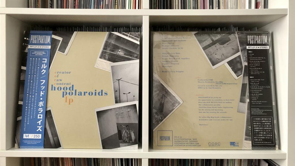 CORC - Hood Polaroids LP (POSTPARTUM.)