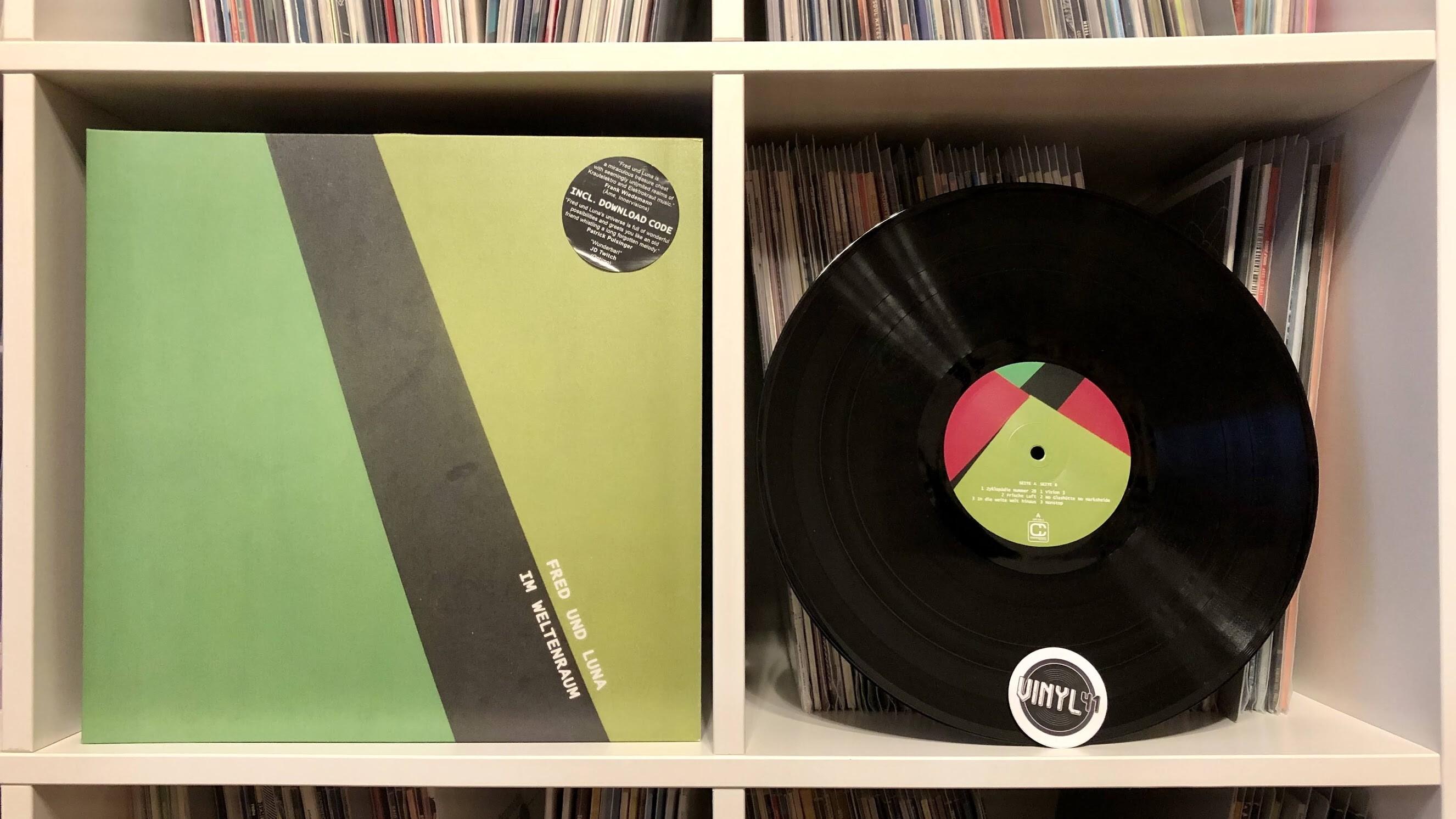 Fred und Luna - Im Weltenraum (Compost Records)