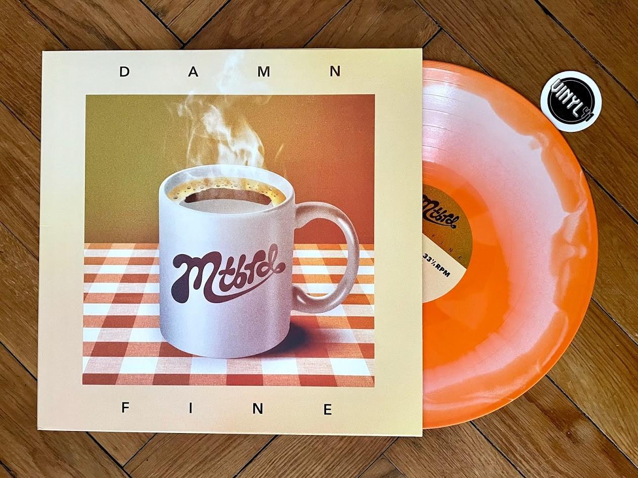 mtbrd - Damn Fine (swirly marmalade vinyl)