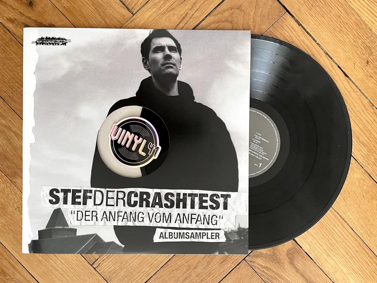 Stef The Crashtest - Der Anfang vom Anfang (Albumsampler) A