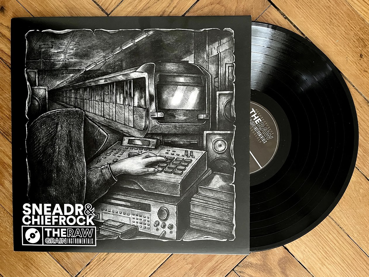 Beats und Instrumentals Nr. 11 - Sneadr & Chief Rock – The Raw Grain LP (LET'S DIG IT!)