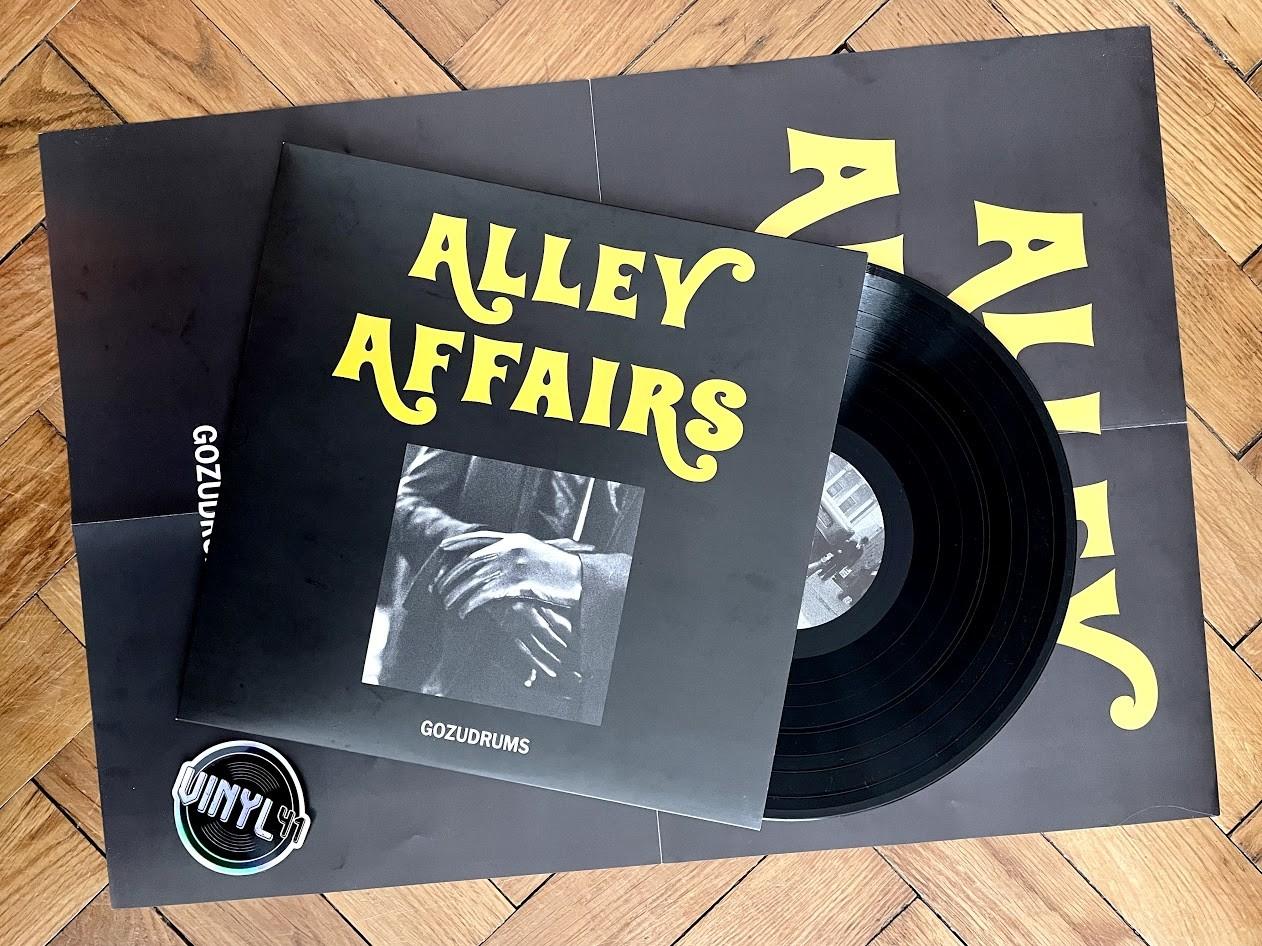Gozudrums - Alley Affairs (Jindujun Rec.)